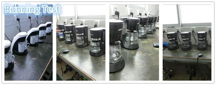 Coffee Maker Running Test