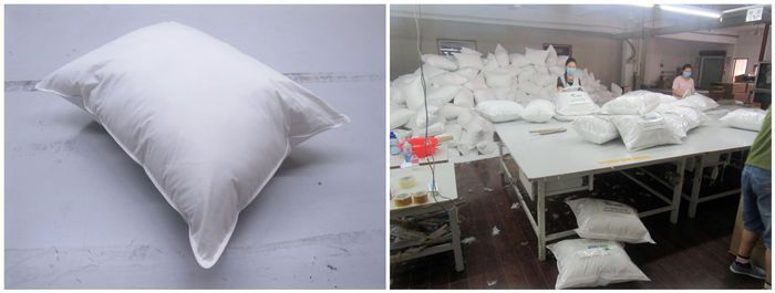 Bedding & Pillow products quality control China inspection services