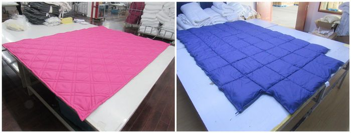 bedspread and bedding products quality control service