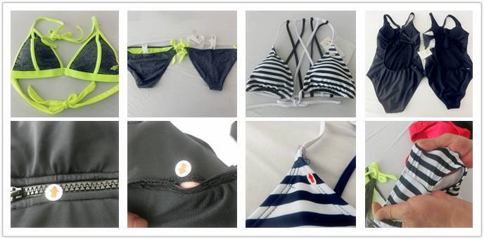 Swimwear/Bikini product inspection services in China and inspection checklist