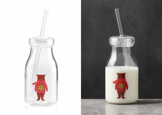 Holiday Milk Bottles Recalls Due To the plastic straw breaking