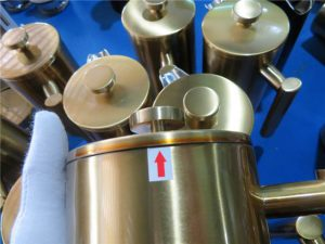 Kitchenware Inspection Poor coating defect