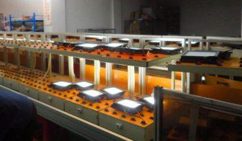 Running test in Lighting Inspection