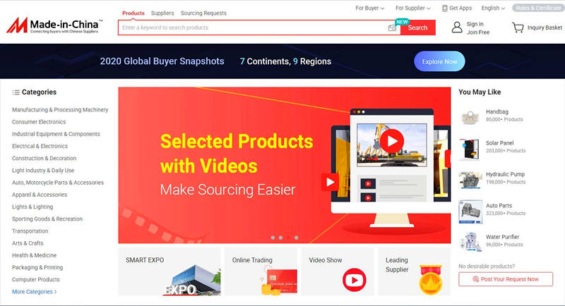 sites like alibaba made-in-China.com